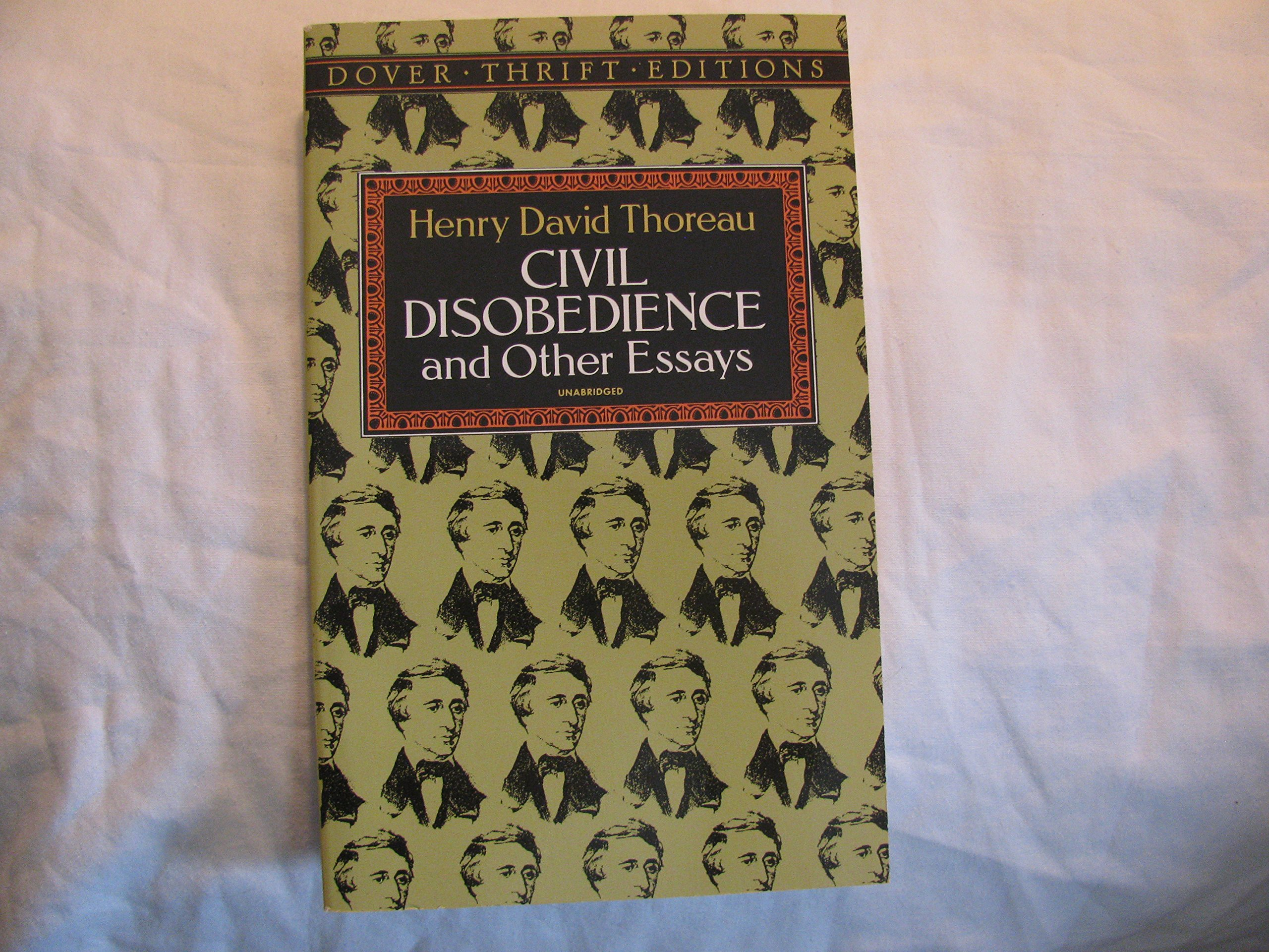 civil disobedience and other essays publisher dover publications  civil disobedience and other essays publisher dover publications henry david thoreau com books