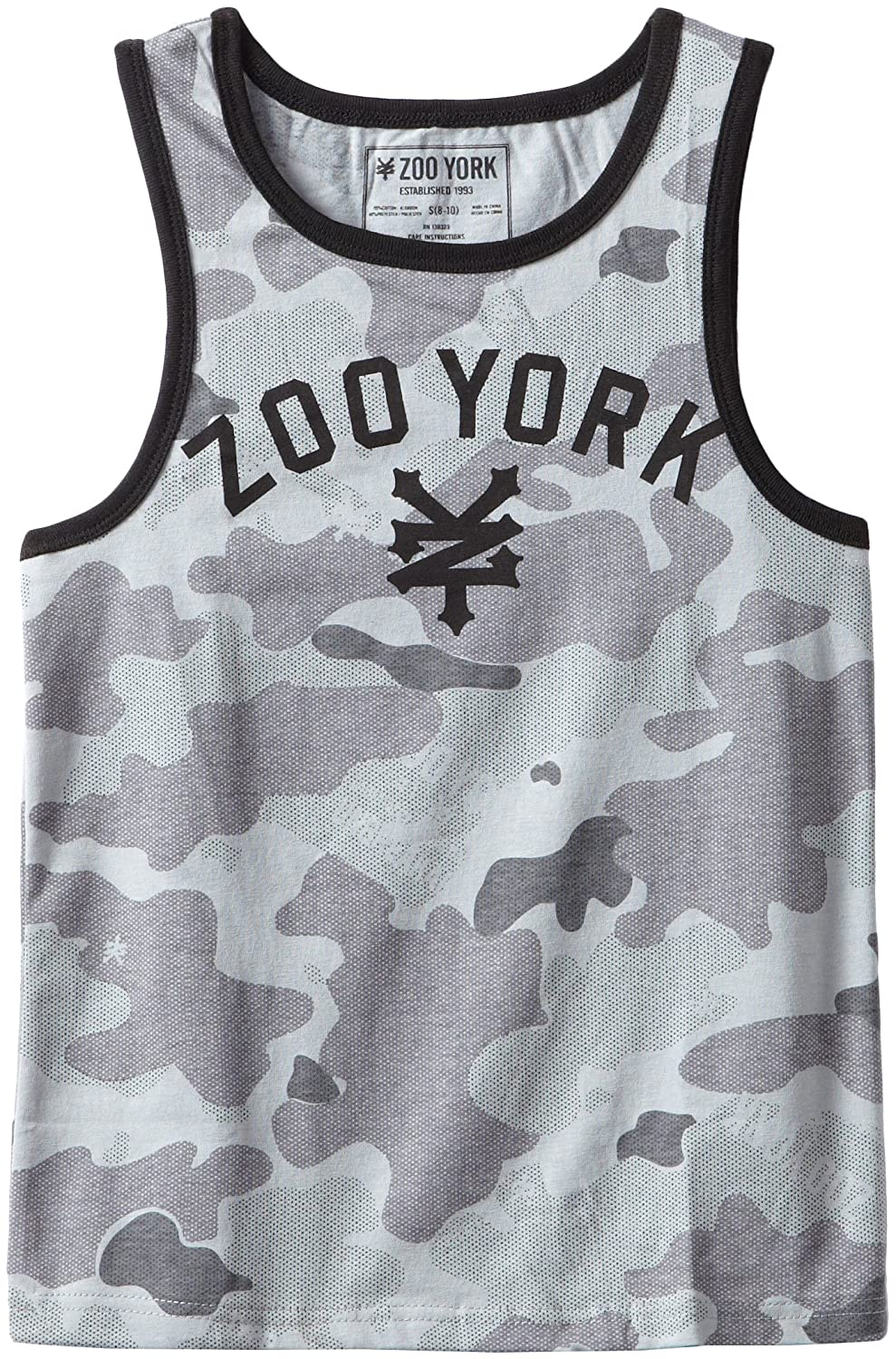 Zoo York Big Boys Immer Camo Sleeveless Tank Zoo York Boys 8-20 19164392-95