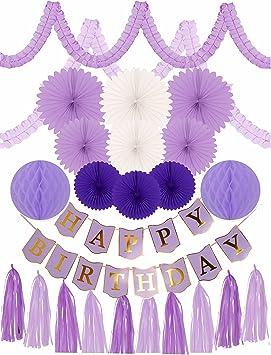 Meant2ToBe - Set de Decoración de Cumpleaños para Hombre ...