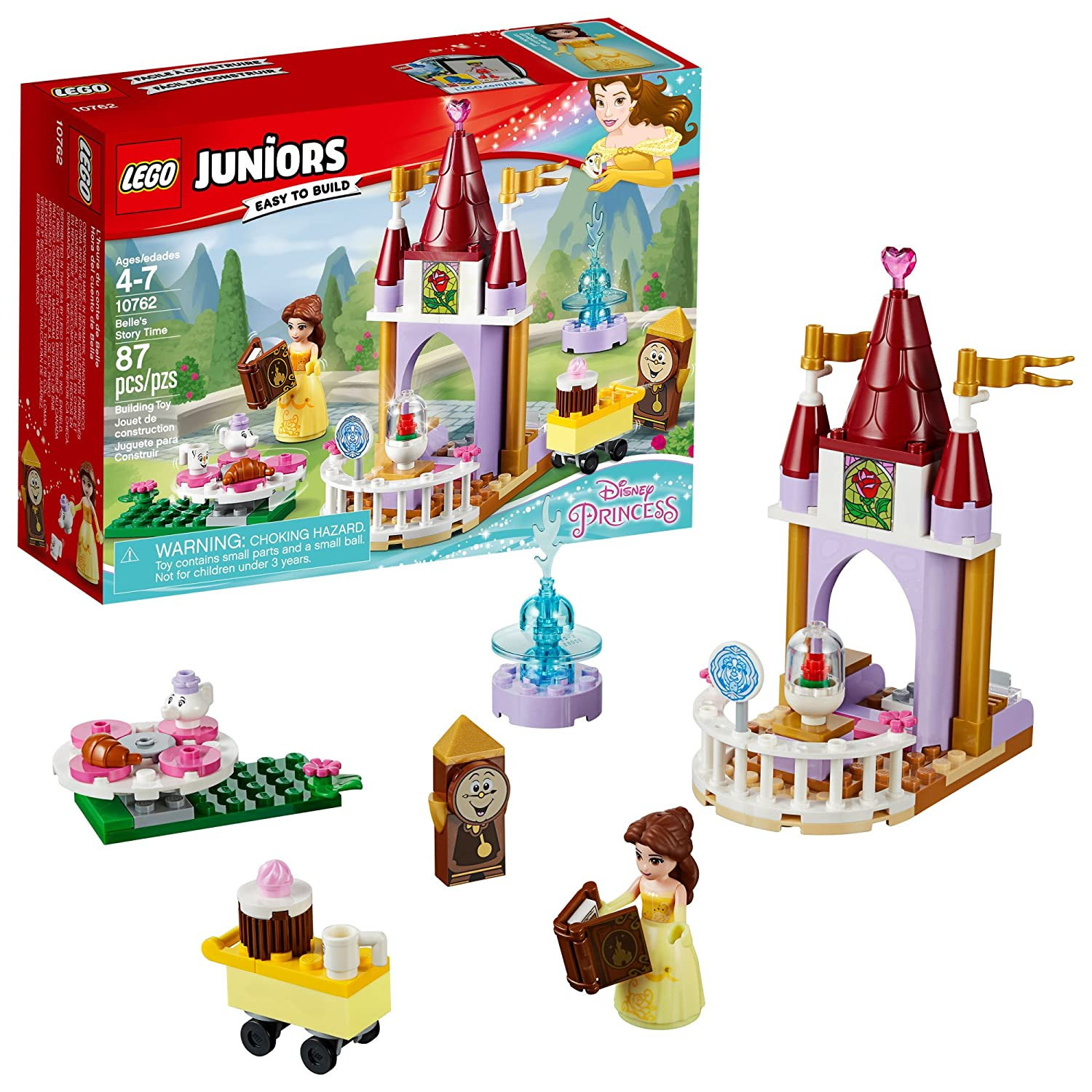 LEGO Juniors Belle' s Story Time 10762 Building Kit (87 Piece) 6213864