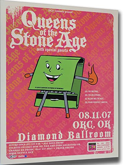 image unavailable image not available for color queens of the stone age poster
