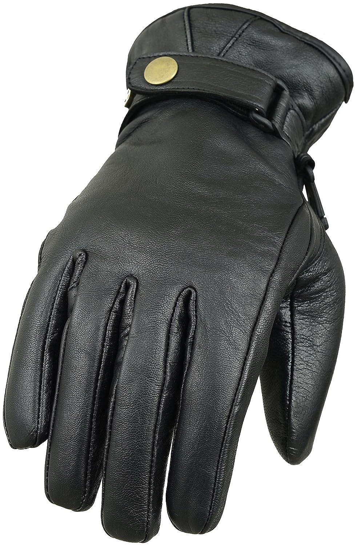 flujo de aire Guantes de protección para carreras de motos de cuero