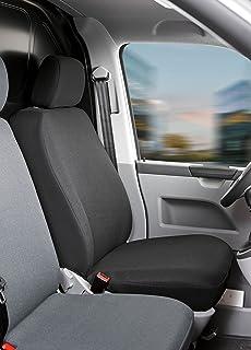 Autositzbezüge für Volkswagen T-4 BUS 94-03 9-Sitze Grau Transporter Sitzbezüge