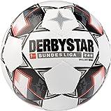 Derbystar Bundesliga Mini Soccer Ball, White, Size 1