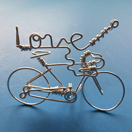 Love bicycle art decor script word love cross sign bike incense love bicycle art decor script word love cross sign bike incense holder decorations negle Gallery