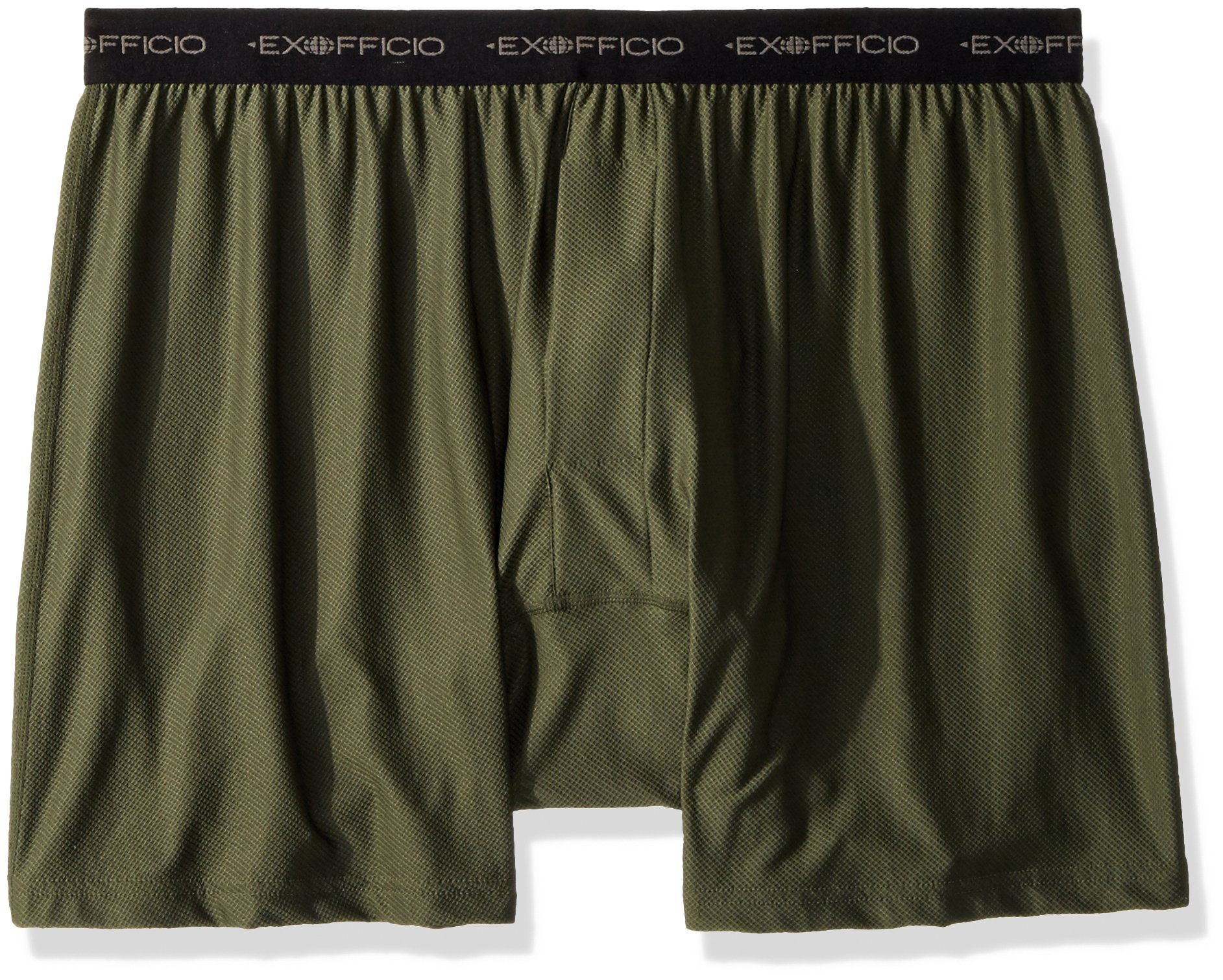 ExOfficio Men's Give-N-Go Boxer Shorts, Nordic, Large
