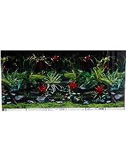 Marina Precut Background, Flora/Red Lace, 12 x 24