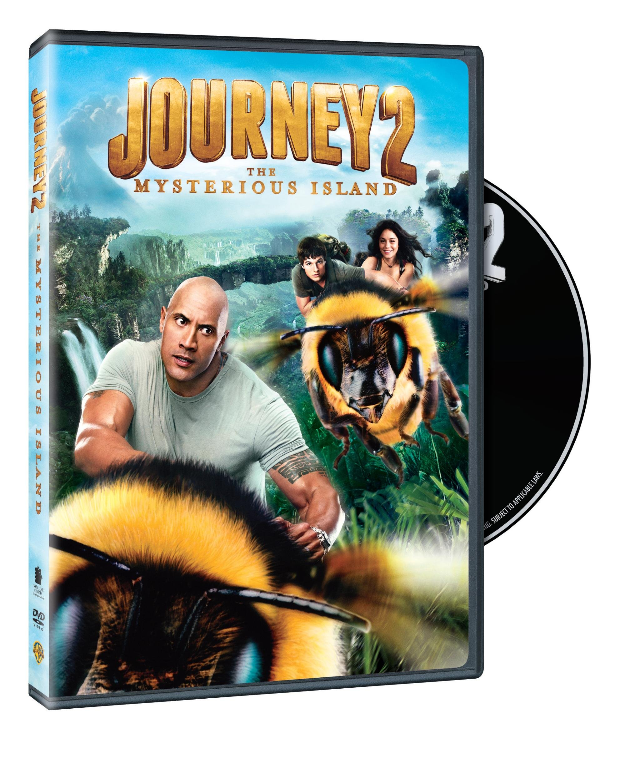 DVD : Journey 2: The Mysterious Island (Full Frame, Ultraviolet Digital Copy, Dolby, AC-3, )