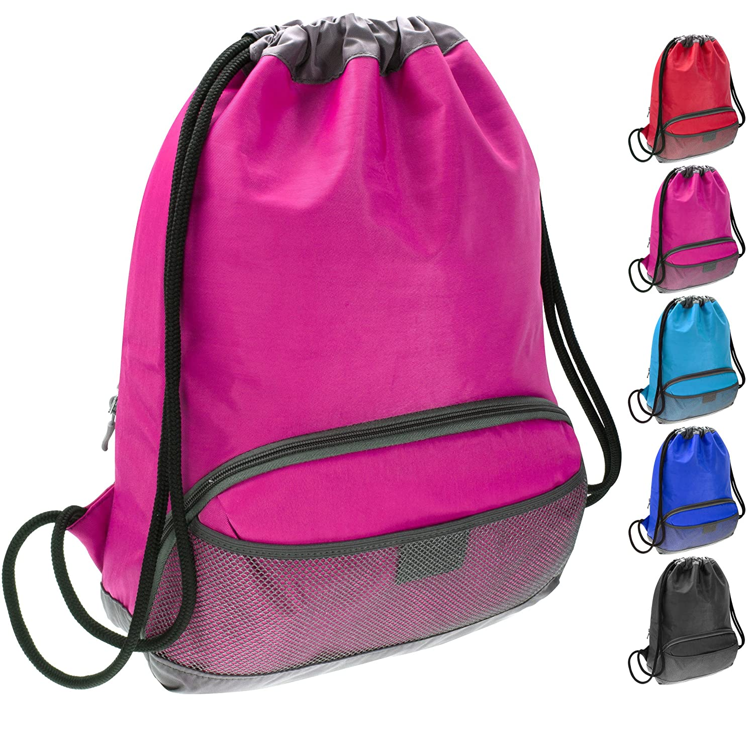 chic ButterFox Waterproof Fabric Swim PE Gym Sports Bag Drawstring Sackpack  Backpack for Kids 4e45f58feb818