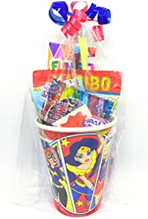 DC Super Hero Girls Pre Filled Party Cup Gifts Bags