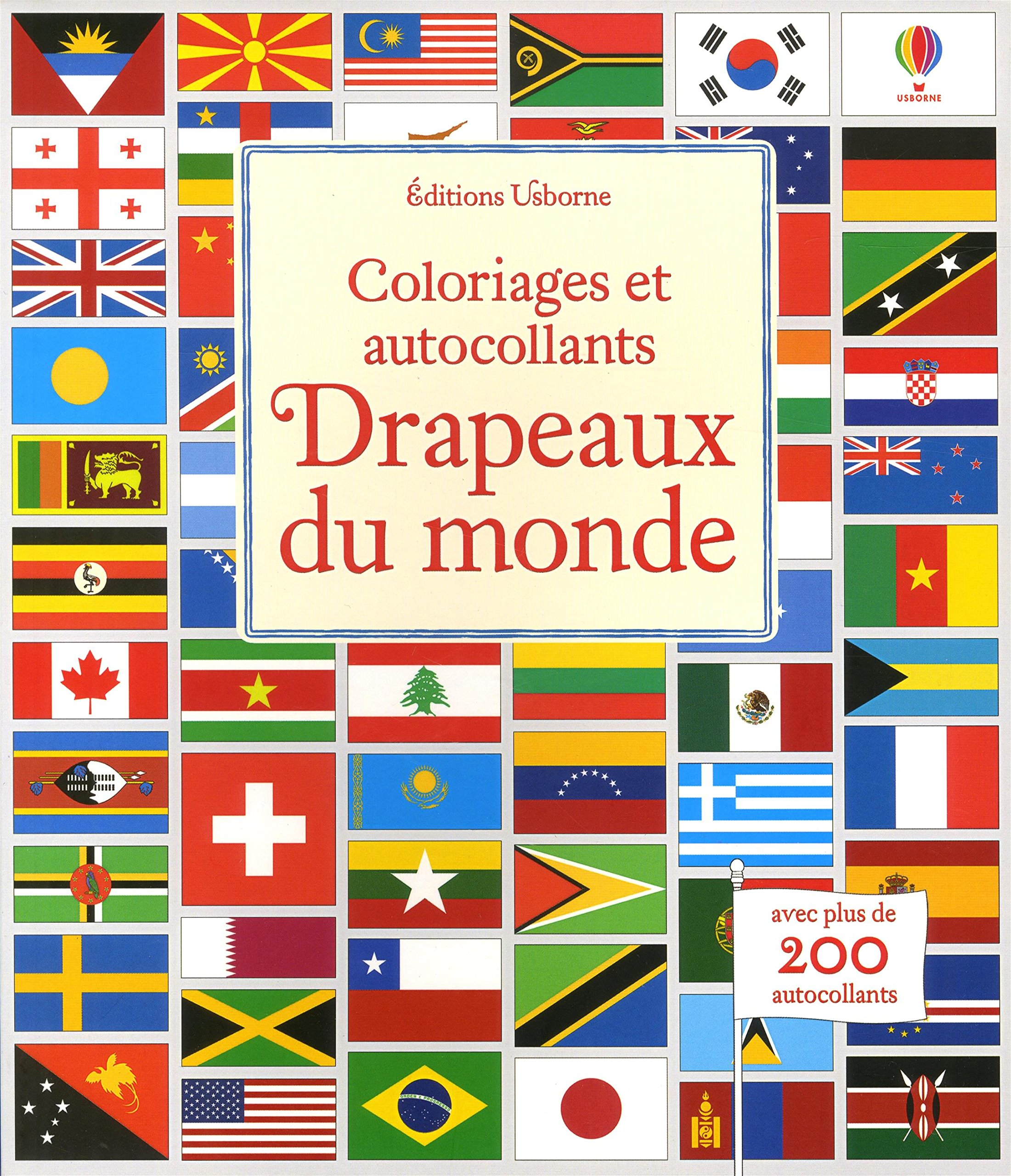 Drapeaux Du Monde Coloriages Et Autocollants Amazon Fr Meredith Susan Mcnee Ian Reynolds Hope Duran Veronique Livres
