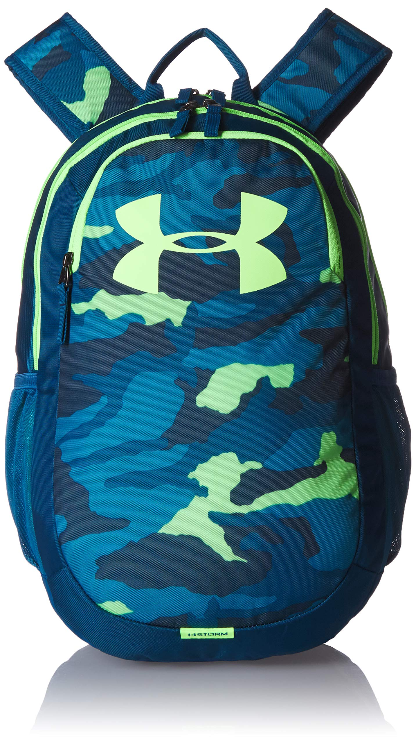 Under Armour Scrimmage Backpack 2.0, Teal Rush (454)/Lime Light, One Size Fits All by Under Armour