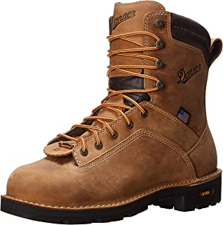 Amazon.com | Danner Men's Quarry USA 8-Inch Alloy Toe Work Boot ...