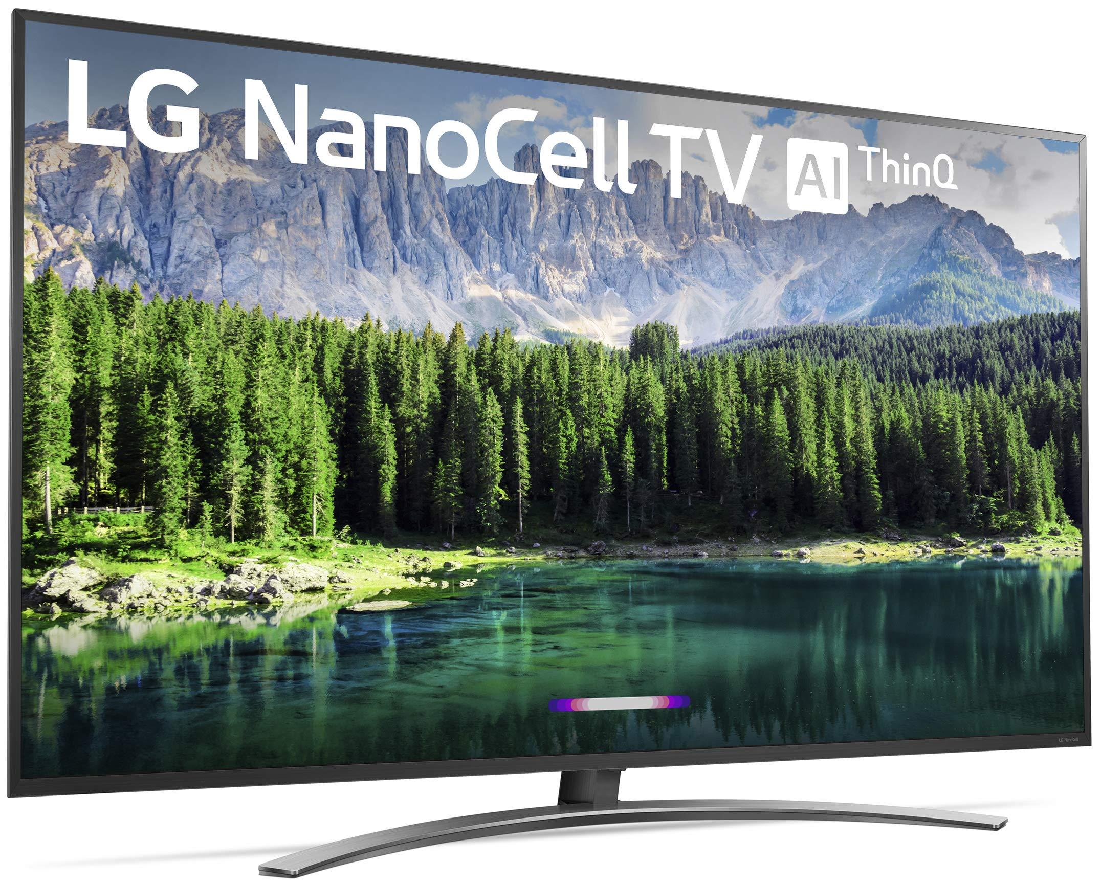 "LG 75SM8670PUA Nano 8 Series 75"" 4K Ultra HD Smart LED NanoCell TV (2019) 3"