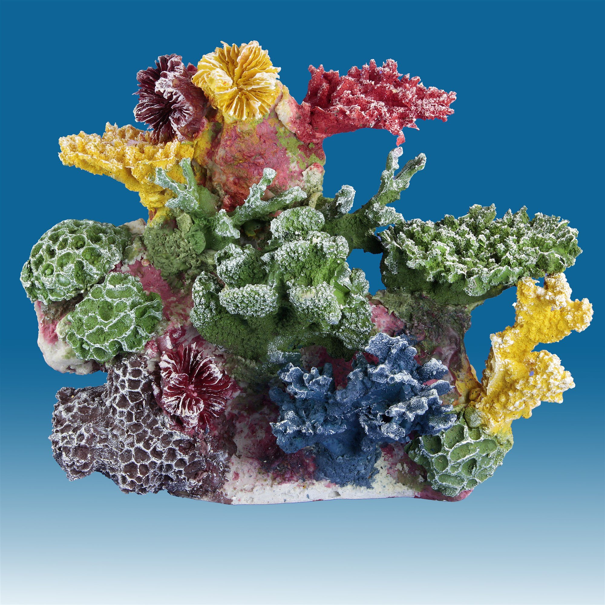 Instant Reef DM035 Artificial Coral Inserts Decor, Fake Coral Reef Decorations for Colorful Freshwater Fish Aquariums, Marine and Saltwater Fish Tanks by Instant Reef