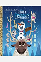 Olaf's Frozen Adventure Little Golden Book (Disney Frozen) Kindle Edition