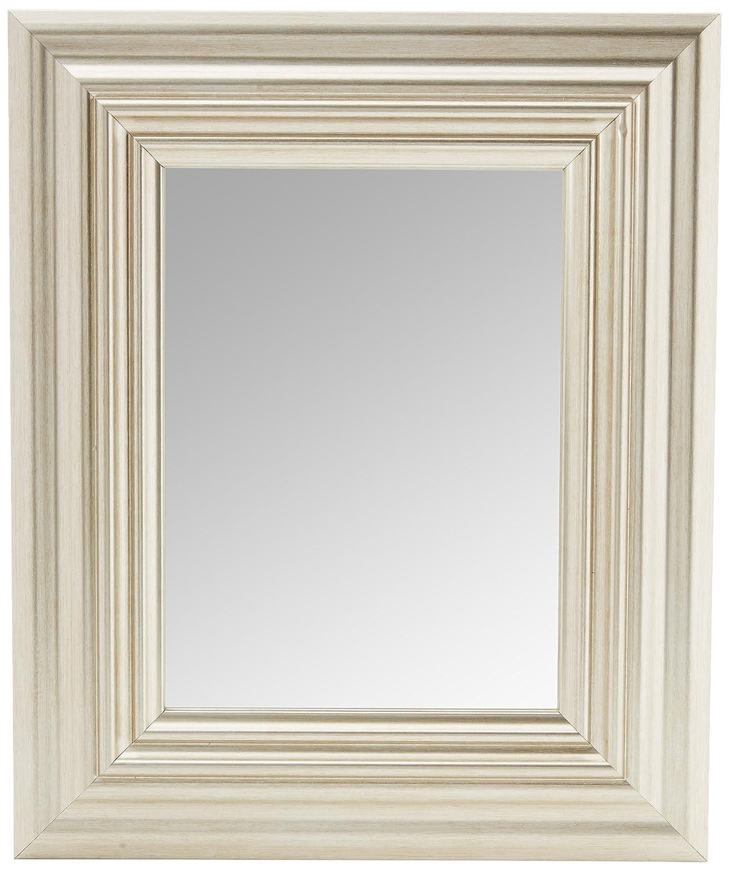Inov8 Spiegel Rahmen Toskana 8 x 6 4 Stück, silber, 9 x 12 x 16 cm ...
