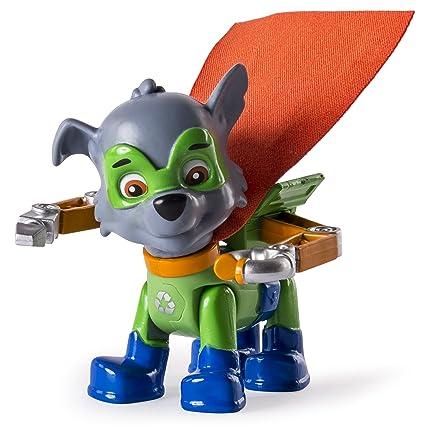 rocky paw patrol  : Paw Patrol - Rocky Super Pups Figure: Toys & Games
