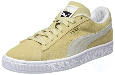 pretty nice f8c6f d6182 Amazon.com | Puma Suede Classic Low-Top Sneakers, Pebble ...