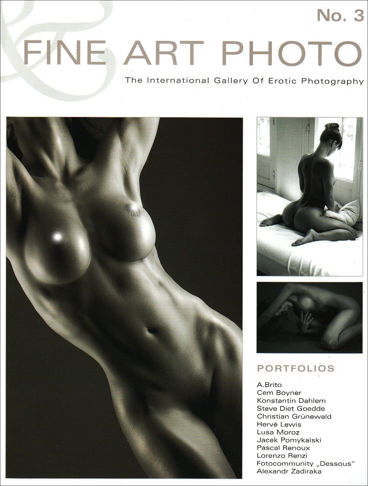 Fine Art Photo 3: The International Gallery of Erotic Photography