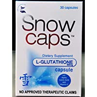 Snow Caps Imported Reduced Glutathione Skin Whitening Capsules 30 capsules