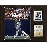 NFL Roger Staubach Dallas Cowboys Player Plaque