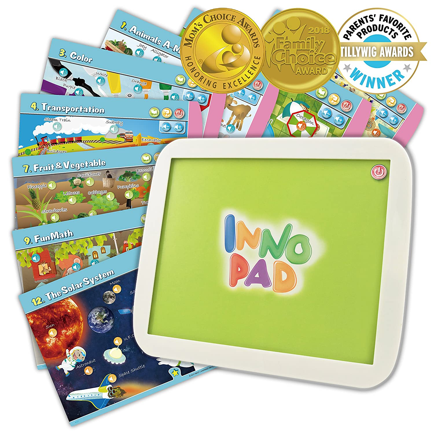 Amazon.com: BEST LEARNING INNO Pad My Fun Lessons - Educational ...