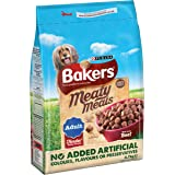 Bakers Meaty Meals Adult Dog Food Beef, 2.7 kg - Pack of 4