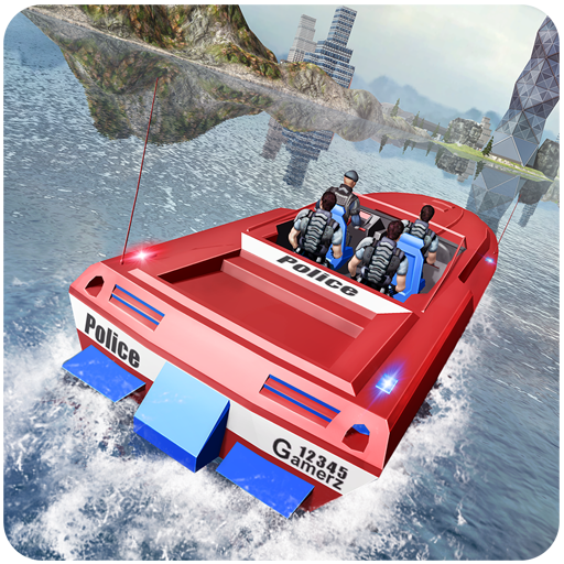 Police Powerboat Transporter (The Best Driver In The World)