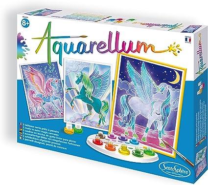 Aquarellum Junior Papillons Fleurs Peinture La Grande Recre