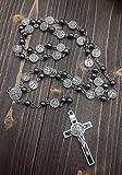 Nazareth Store ST Saint Benedict Hematite Rosary