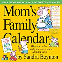 Mom's Family 2019 Calendar: Includes Fridge Magnets and Stickers
