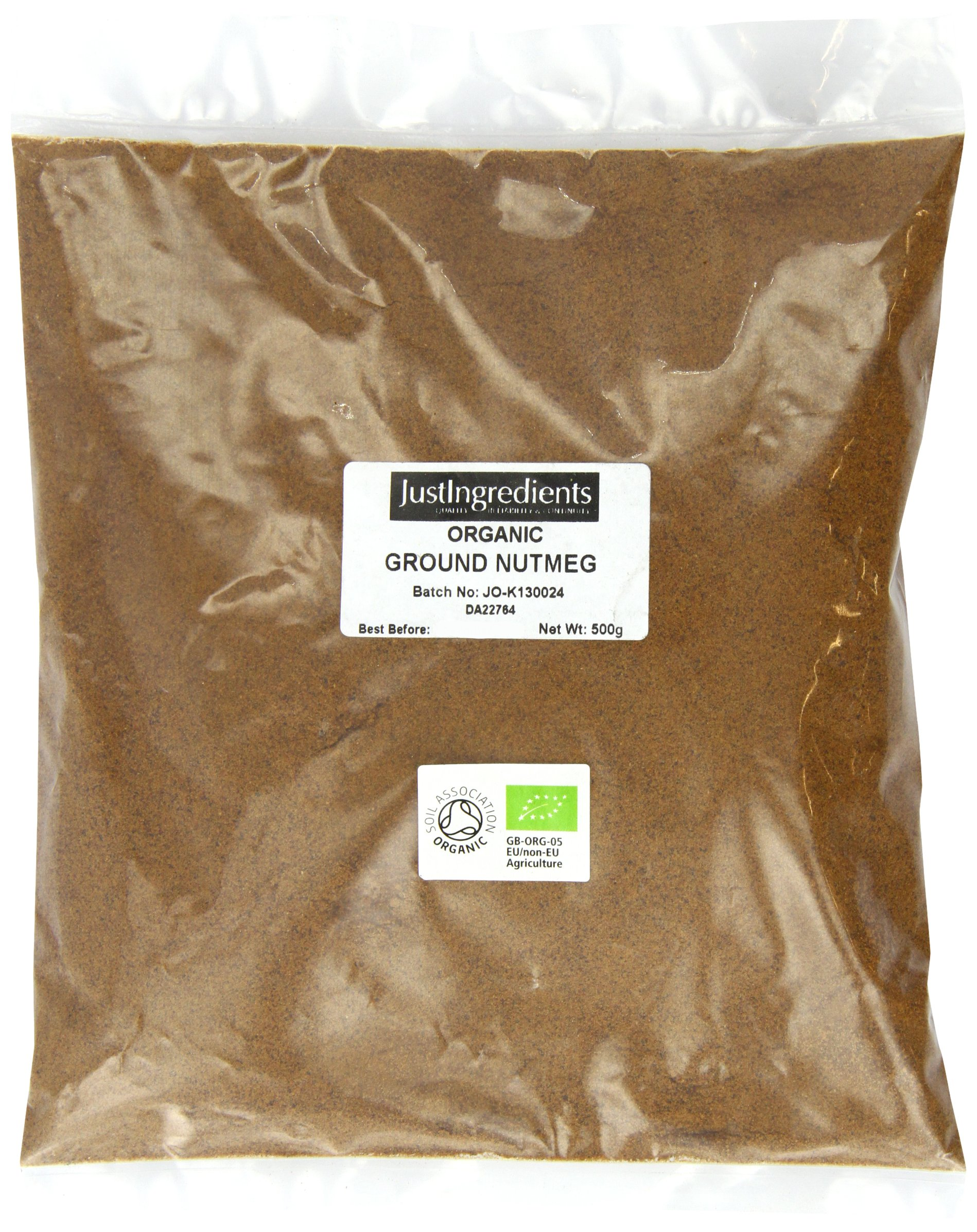 JustIngredients Organic Nutmeg Ground Loose 500 g
