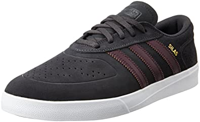 595fc18413 Adidas Silas Vulc Adv Dgh Solid Grey Maroon White 10uk  Amazon.co.uk ...