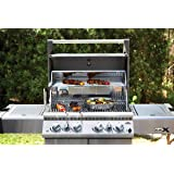 Napoleon LEX485RSIBPSS-1 Rear Burners Propane Gas Grill with Infrared Side