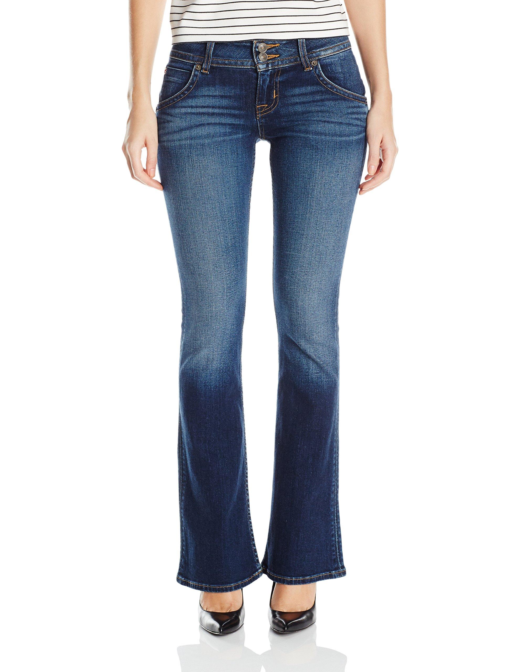 Hudson Jeans Women's Petite Size Signature Bootcut Flap Pocket Jean, Patrol Unit 2, 31 by Hudson Jeans
