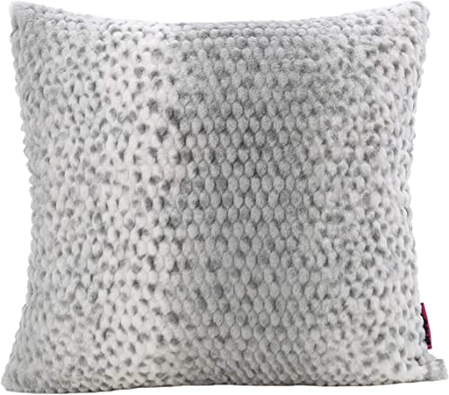Christopher Knight Home Elise Fabric Pollow with Polyester Fiber Fill, Silver Dusk