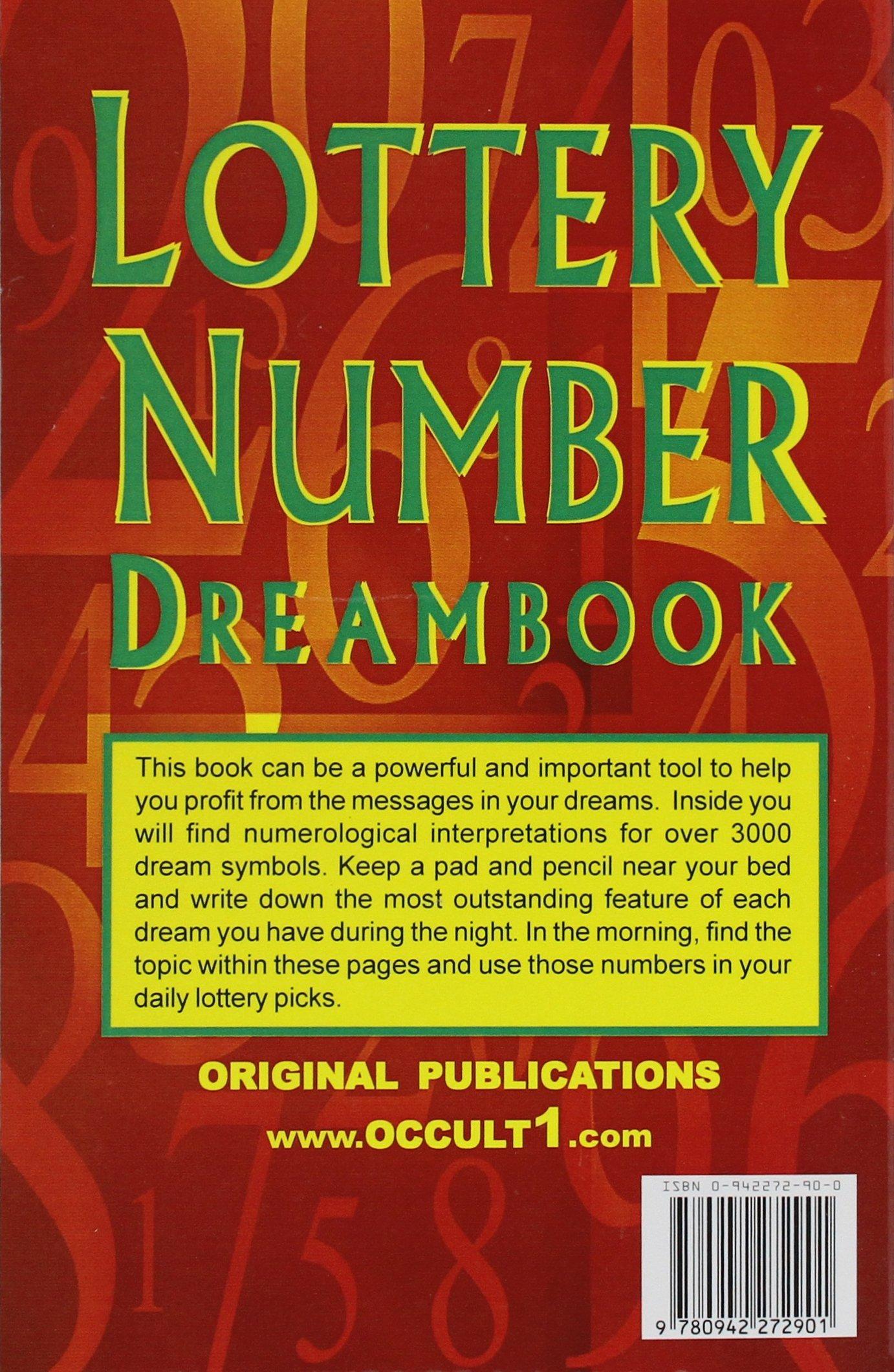 Lottery Number Dream Book: Original Publications / Occult1
