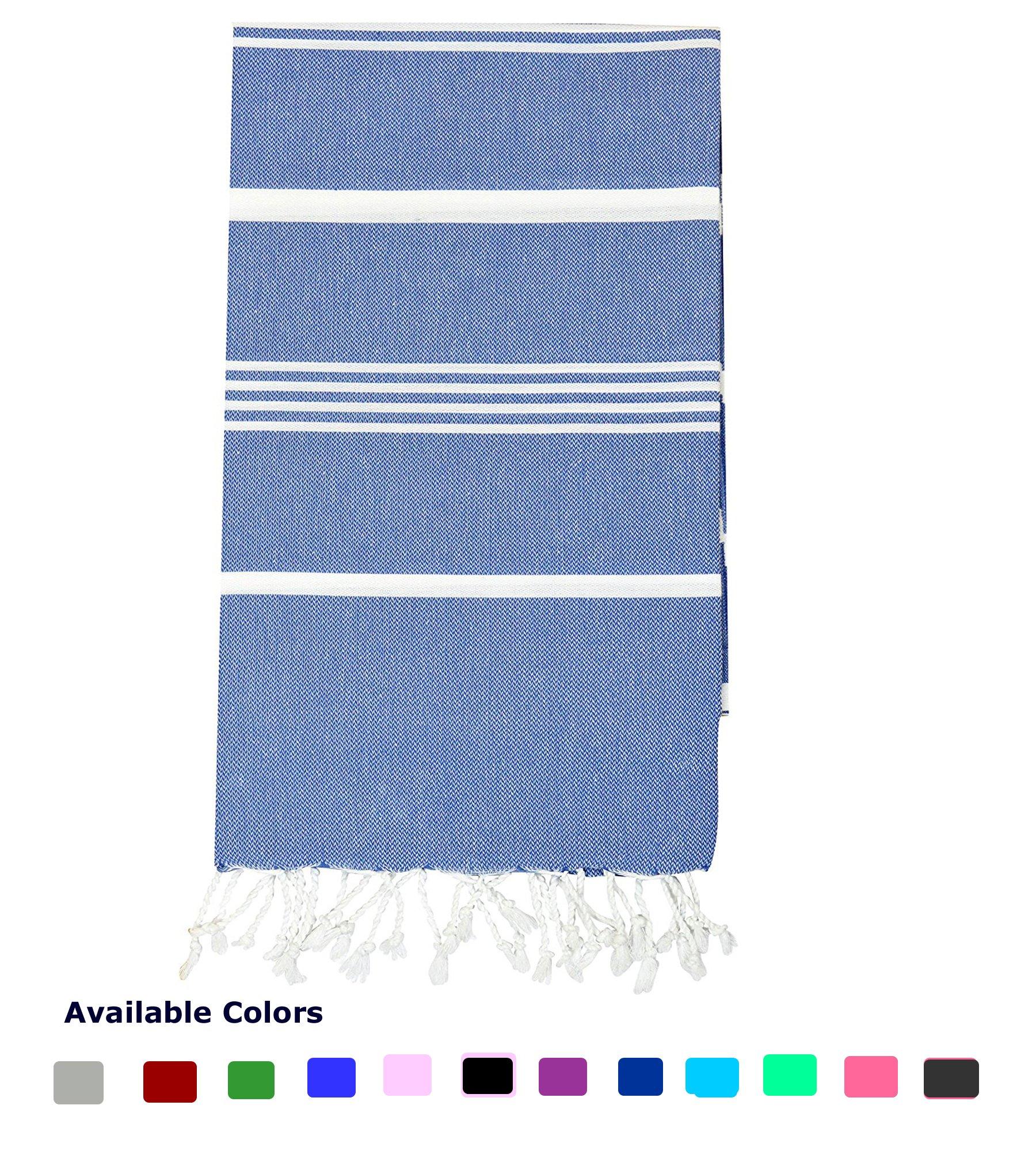 Nature Is Gift Turkish Peshtemal Towels Pestemal Towel Thin Camping Bath Sauna Beach Gym Pool Blanket Fouta Towels 100% Cotton Denim Blue