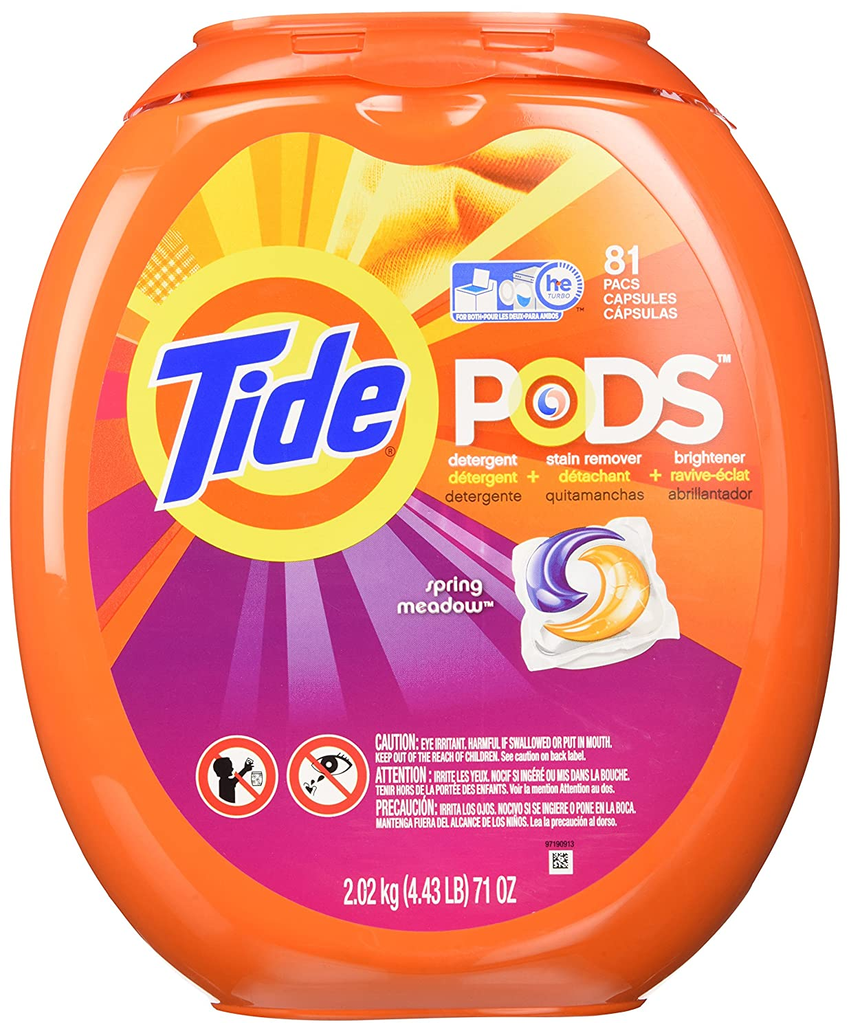 Amazon.com: Tide PODS Laundry Detergent Pacs 81-load Tub: Health & Personal Care