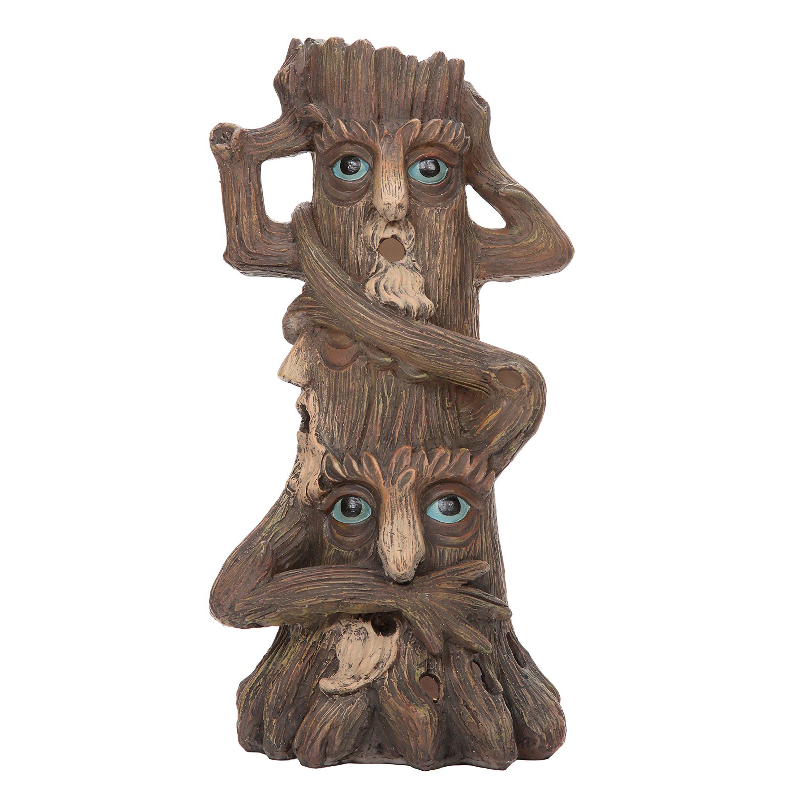 Hosley 12'' High Tree Man Incense Holder. Ideal for Aromatherapy, Zen, Spa, Vastu, Reiki Chakra Settings. P1