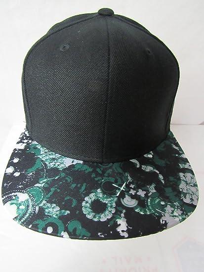 Amazon.com   Lids Men s Size OSFA Blank September Floral Printed Visor  Snapback Baseball Cap Hat E1 337   Sports   Outdoors b17ca9c148c