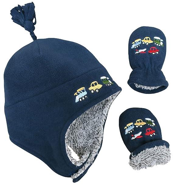 N\'Ice Caps TM - Set de bufanda, gorro y guantes - para niño: Amazon ...