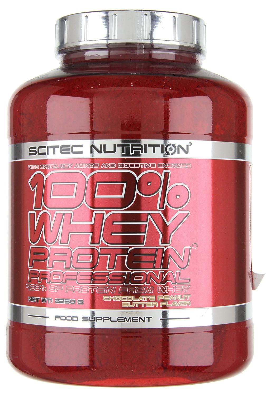 Scitec Nutrition Whey Protein Professional proteína chocolate-cacahuete 2350 g: Amazon.es: Salud y cuidado personal