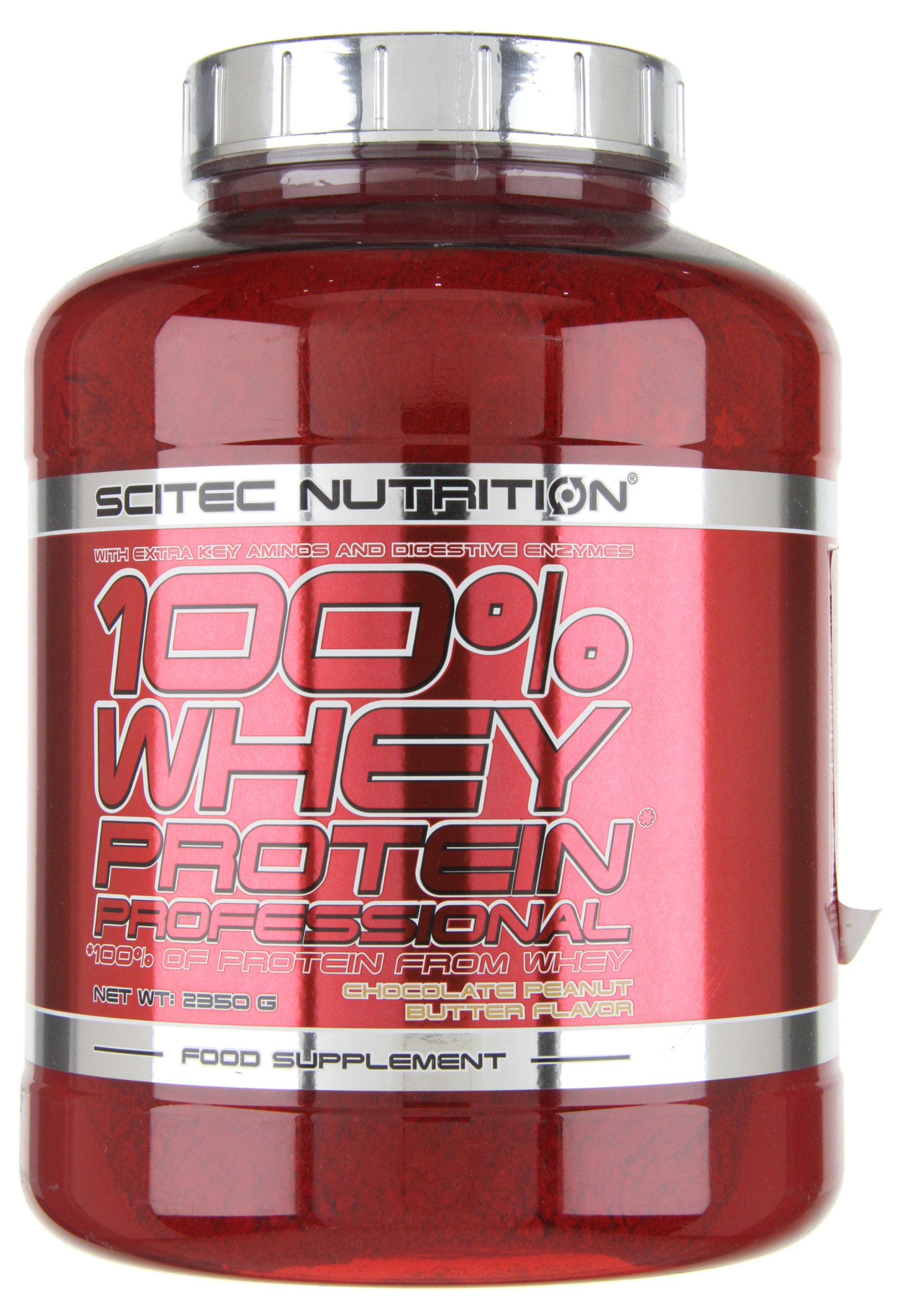 100% whey protein professional - 5.18 lbs - Chocolat Peanut Butter - Scitec nutrition