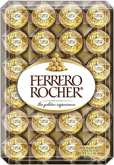 Amazoncom Ferrero Rocher Fine Hazelnut Chocolates 48 Count