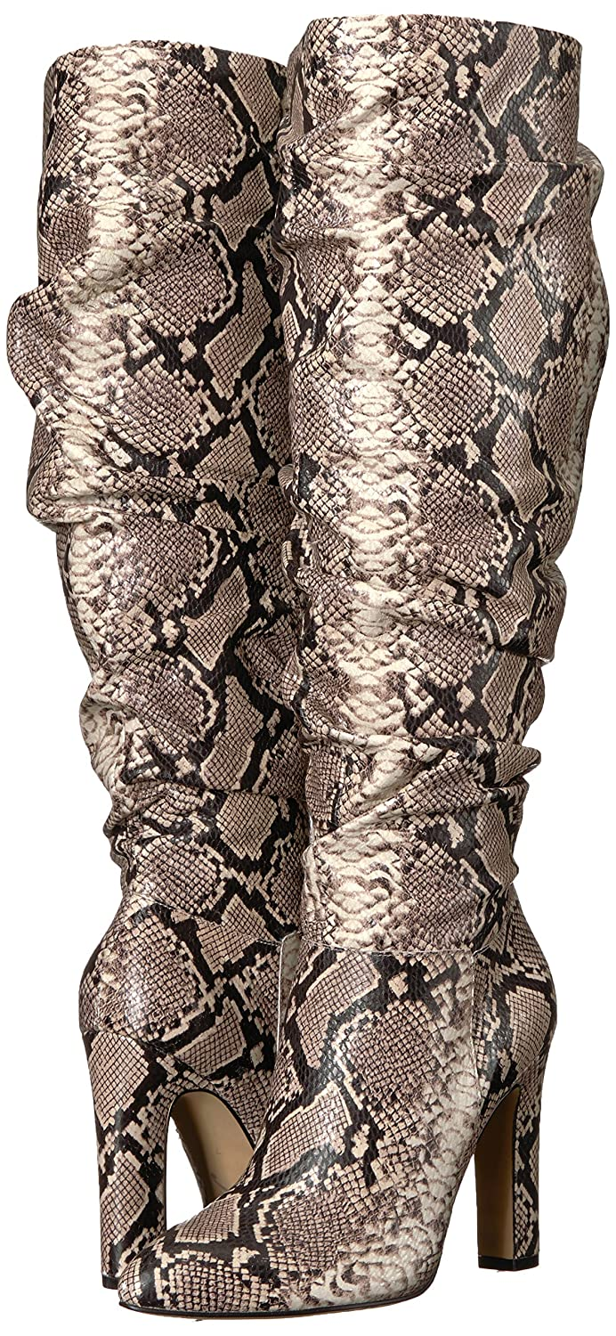 The Fix Womens Kennedi Pointed-Toe To-The-Knee Slouch Boot 880234
