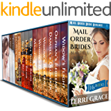Mail Order Brides Beautiful Box Set: 16 Book Historical Romance Boxed Set