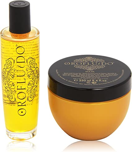 Orofluido - Promo Pack - Champú + Tratamiento para cabello: Amazon.es: Belleza