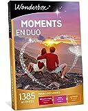 Wonderbox - Coffret cadeau couple - MOMENTS EN DUO – 1385 activités à partager en amoureux